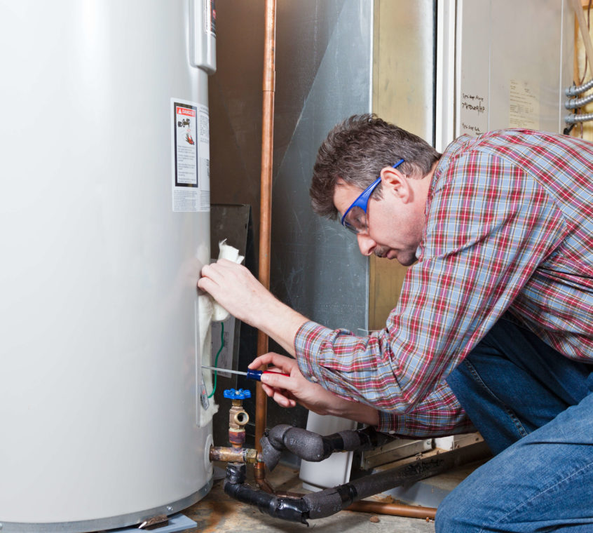 Burst Water Heater