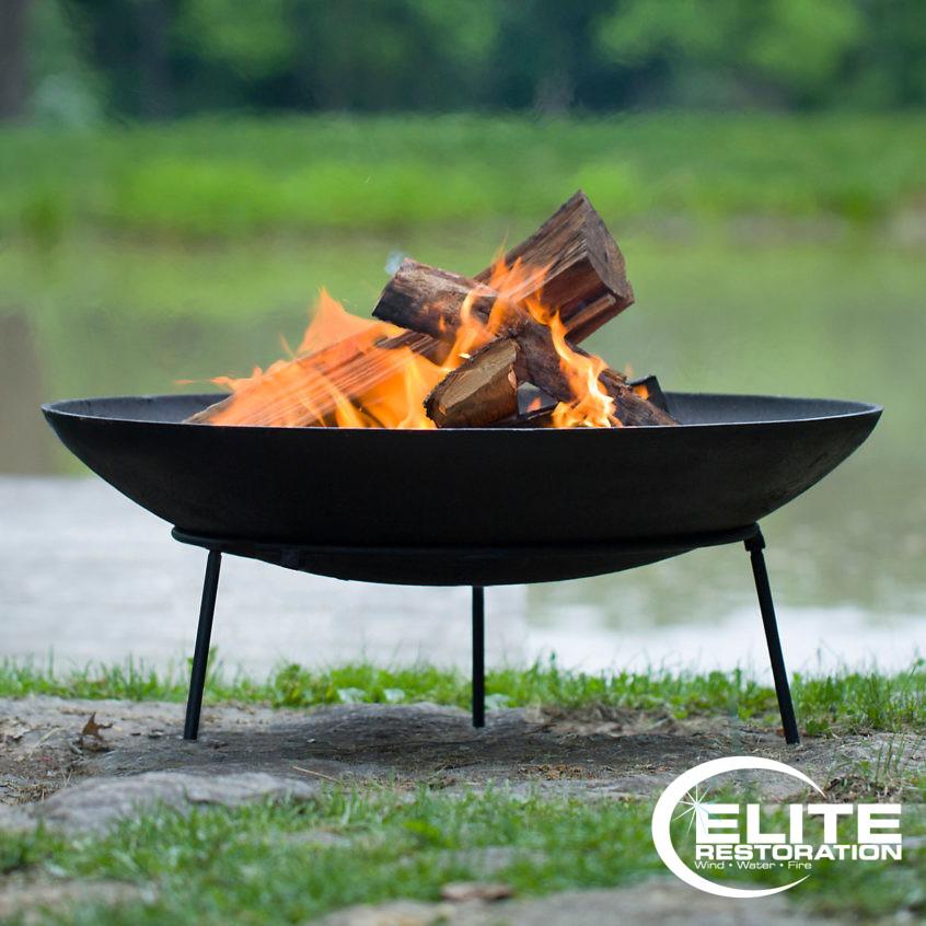 Backyard Fire Pit Safety Tips Elite Restoration