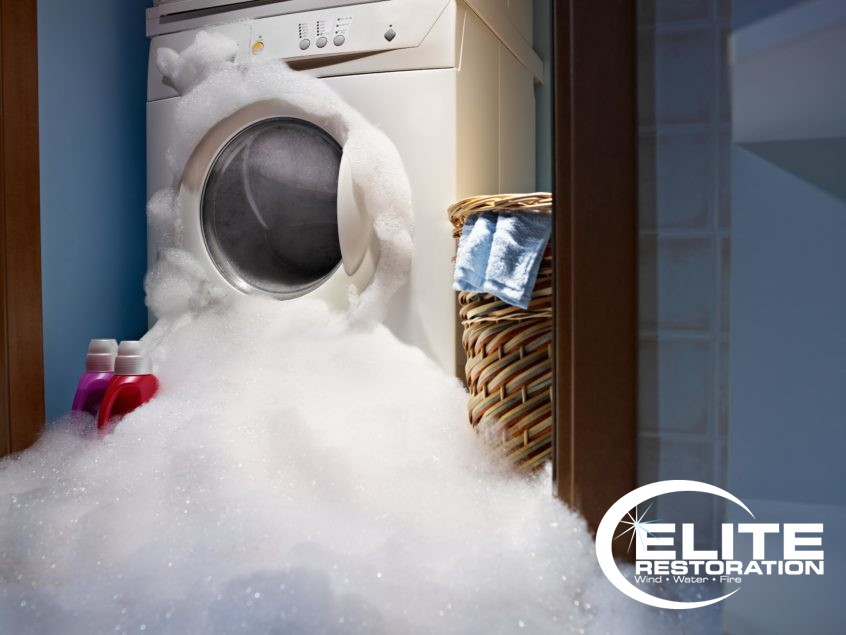 leaking washer foaming with soap bubble needs fixed