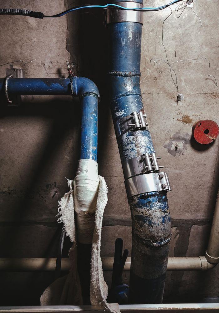 sewage pipes